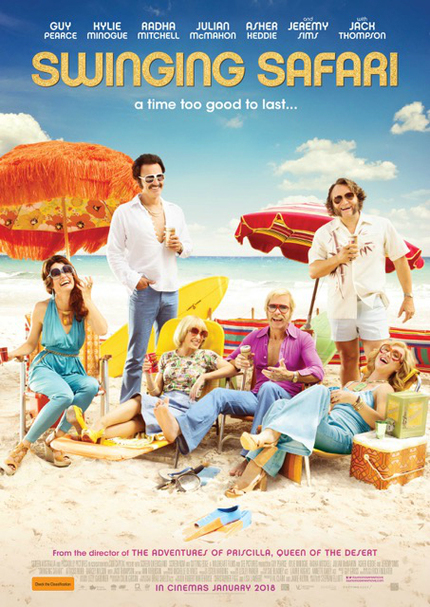 Guy Pearce And Kylie Minogue Go On A SWINGING SAFARI