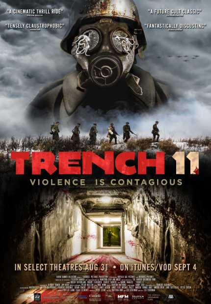 TRENCH Check Out The New Trailer And Poster For Canadian Wartime - Minecraft horror hauser