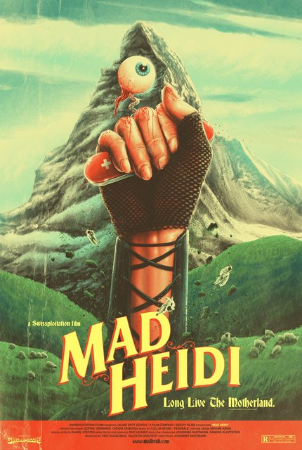 Switzerland Brings The Splatter With 'Swissploitation' Film MAD HEIDI