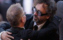 Thierry Fremaux and Tim Burton