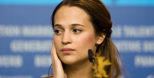 Alicia Vikander, En Kongelig Affære press conference