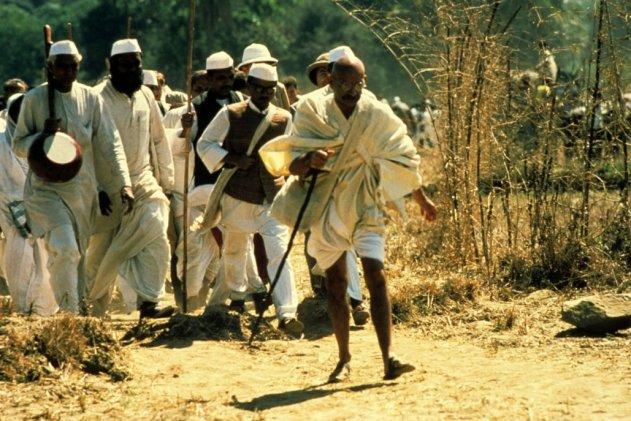 """Still from """"Gandhi"""" (1982)"""