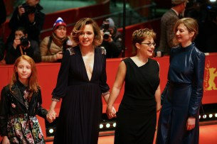 Sara Casu, Valeria Golino, Laura Bispuri and Alba Rohrwacher at Berlinale (ScreenComment)