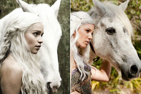 Cosplay Of The Day This Khaleesi Has A Horse
