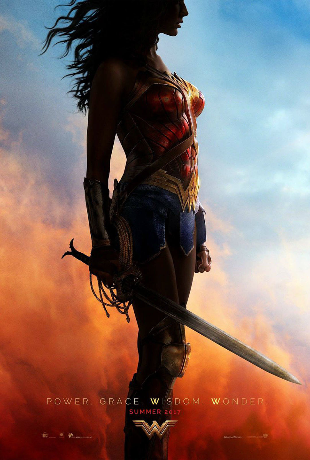 Image result for wonder woman gal gadot poster