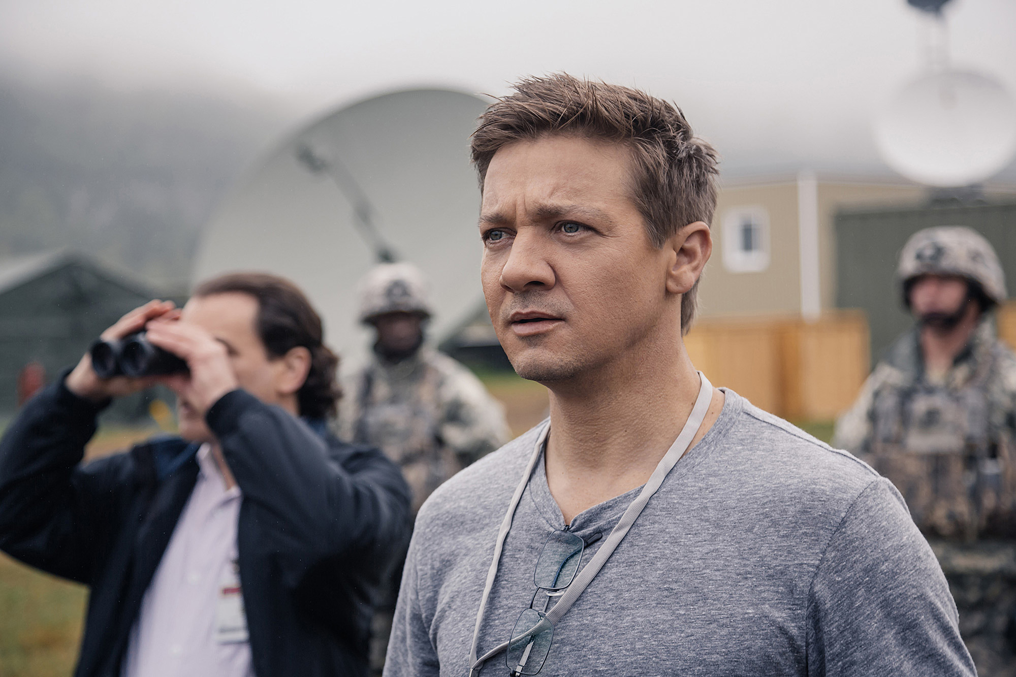 Image result for arrival  2016 jeremy renner