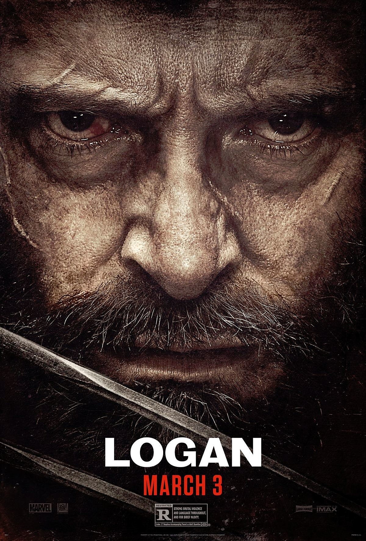 Image result for logan poster