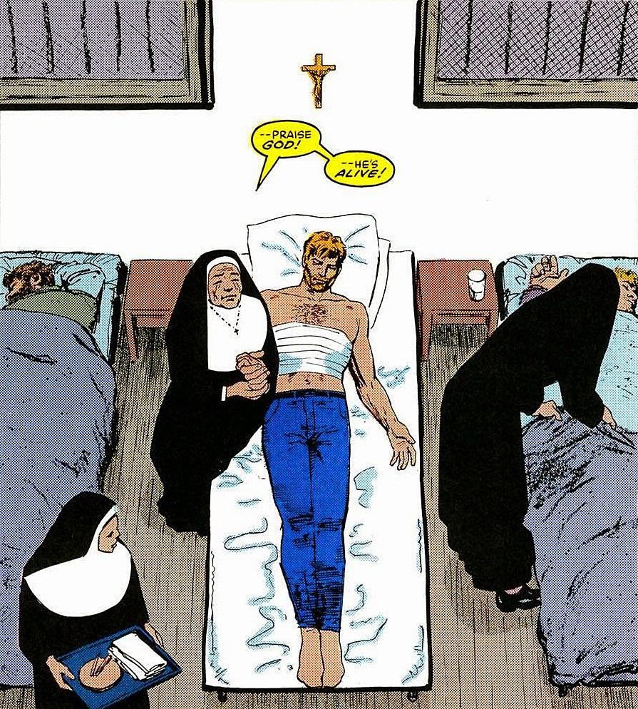 Maggie Murdock salva Matt em Queda de Murdock (Marvel Comics)