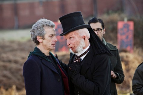 WARNING: Embargoed for publication until 00:00:01 on 06/10/2015 - Programme Name: Doctor Who - TX: 10/10/2015 - Episode: BEFORE THE LAKE (By Toby Whithouse) (No. 4) - Picture Shows: ***EMBARGOED UNTIL 6th OCT 2015*** Doctor Who (PETER CAPALDI), Prentis (PAUL KAYE), Bennett (ARSHER ALI) - (C) BBC - Photographer: Simon Ridgway