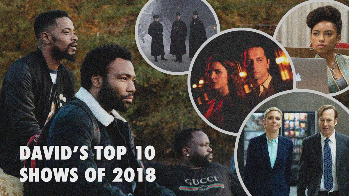 2018 Yearbook: David's Top 10 Shows