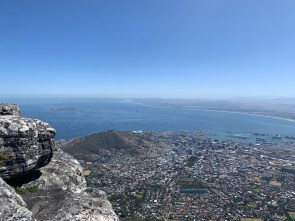 Cape Town below