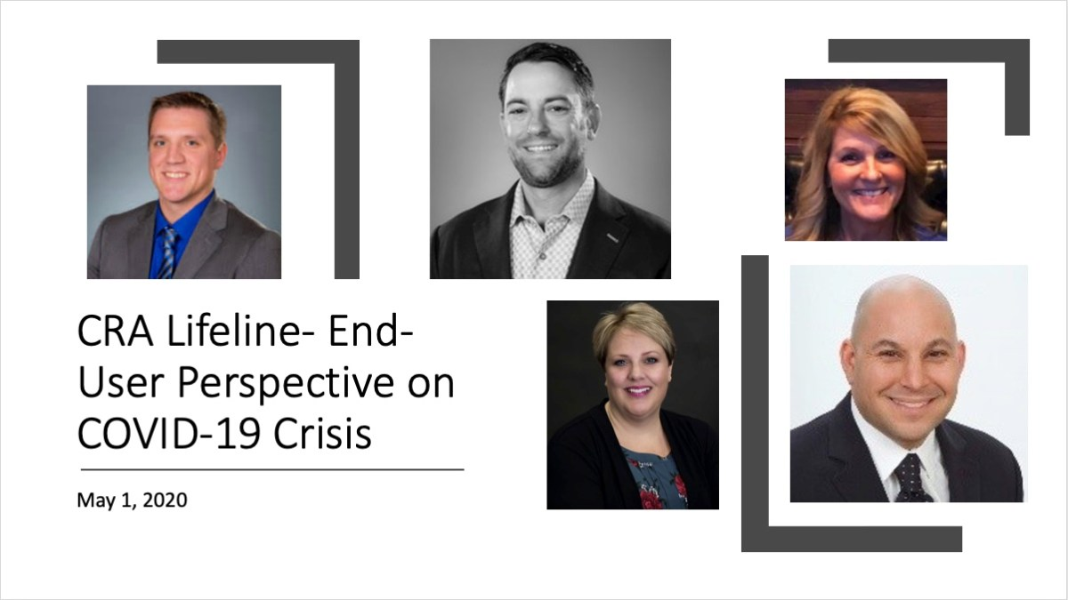 Webinar: End-User Perspective on COVID-19