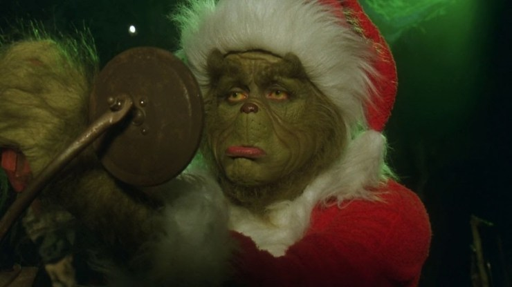 a quick run down of the story for those who live under a lump of coal the grinch lives out of mount crumpit a sort of batcave for the grumpy - How The Grinch Stole Christmas Jim Carrey