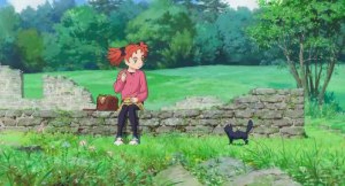 Image result for mary and the witch's flower cat