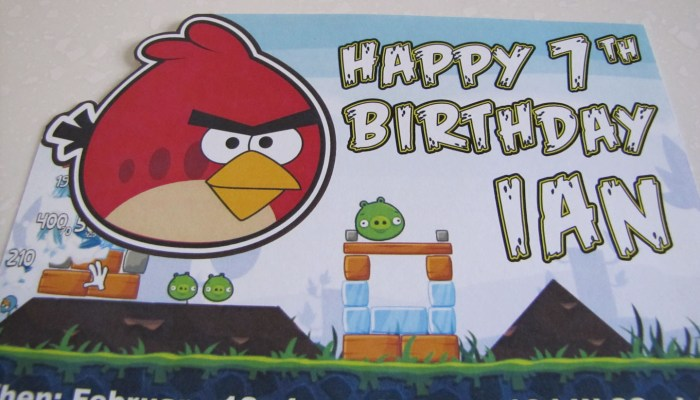 Creating An Epic Angry Birds Birthday Party Screen Porch Life