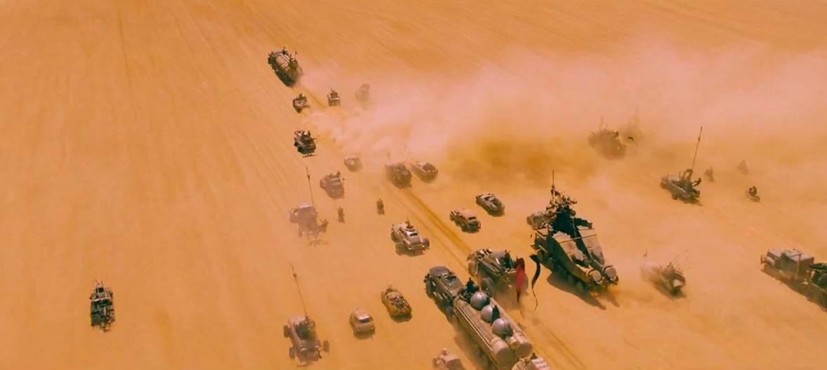 mad max fury road desert chase