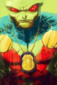 Martian Manhunter Issue #1 Cover