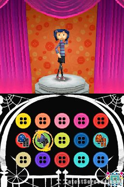 All Coraline Screenshots For Wii PlayStation 2 Nintendo DS