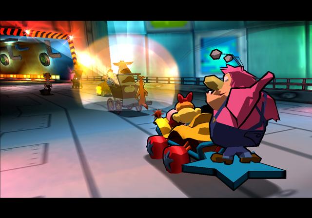 All Cartoon Network Racing Screenshots For PlayStation 2