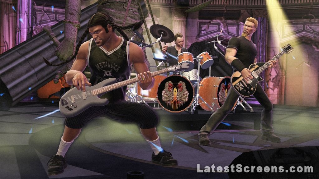 All Guitar Hero Metallica Screenshots For Xbox 360 Wii PlayStation 3 PlayStation 2
