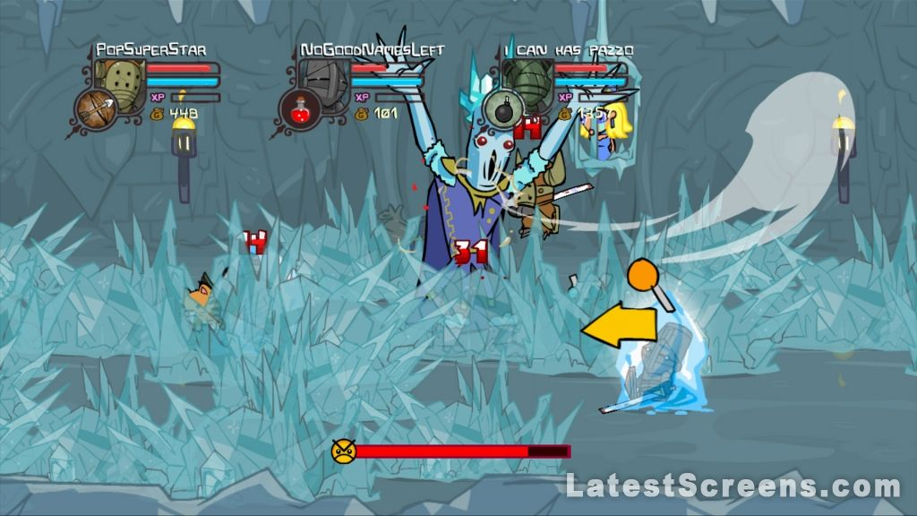 All Castle Crashers Screenshots For Xbox 360 PlayStation