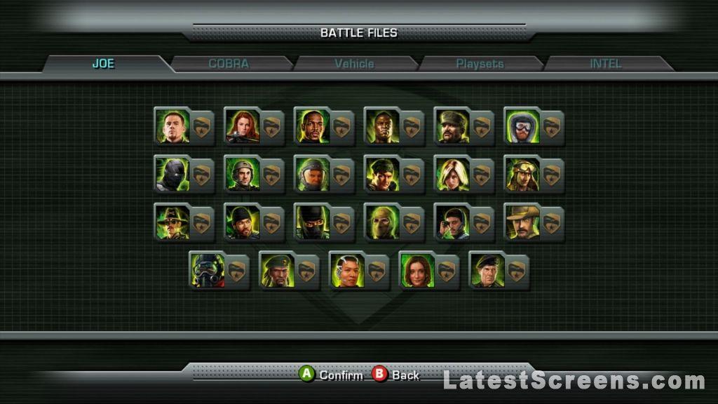 All GI Joe The Rise Of Cobra Screenshots For Xbox 360