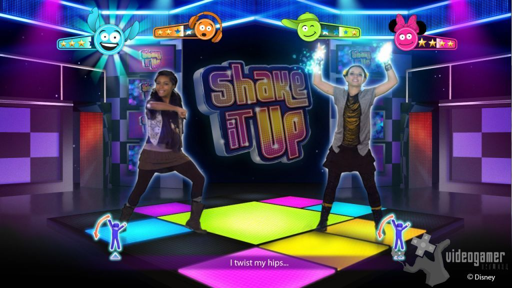 All Just Dance Disney Party Screenshots For Wii Xbox 360