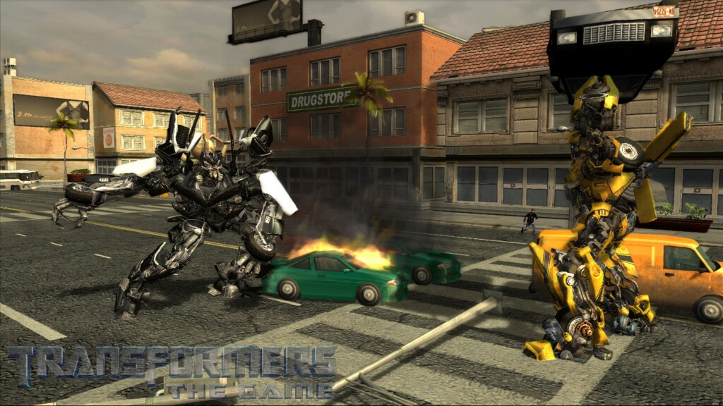 All Transformers The Game Screenshots For Wii PC PSP