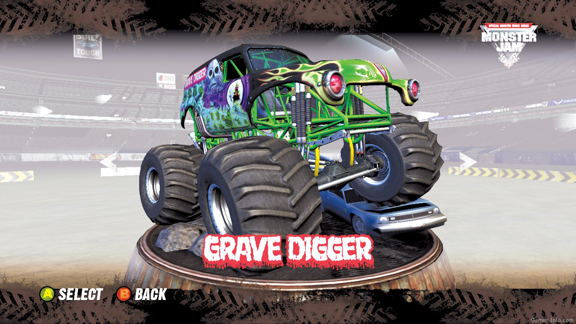 Monster Jam 2007 Video Game