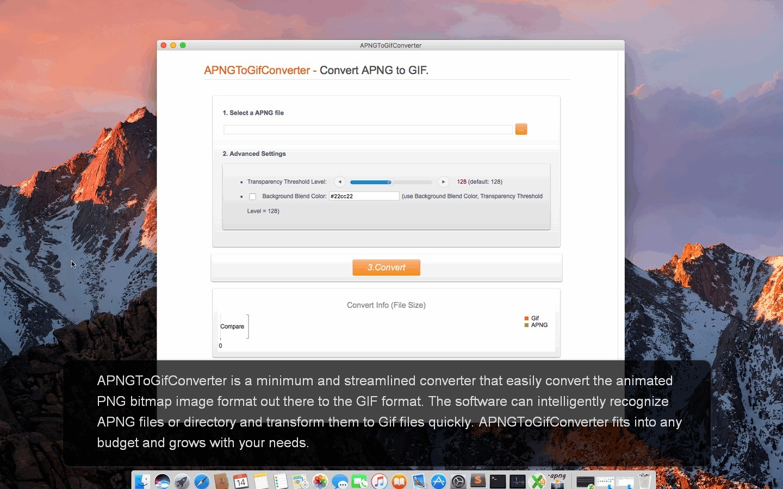 APNGToGifConverter for Mac 3.2.1 破解版 -  APNG位图格式转换器