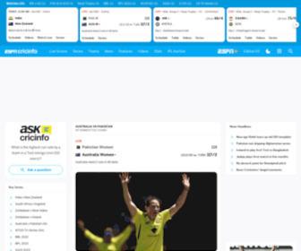 Cricinfo: Cricinfo.com | Check Live Cricket Scores, Match ...