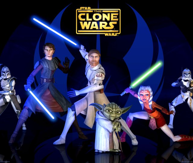 Star Wars The Clone Wars Jedi Wallpaper