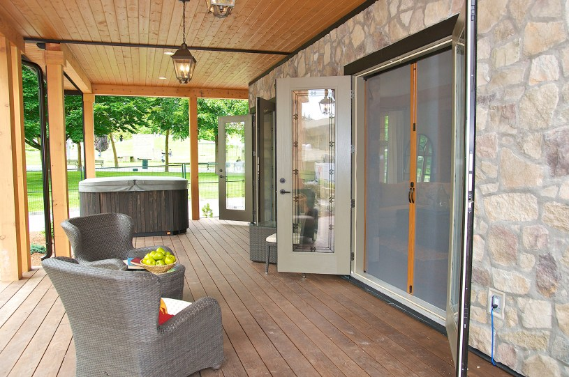 French Door on Patio