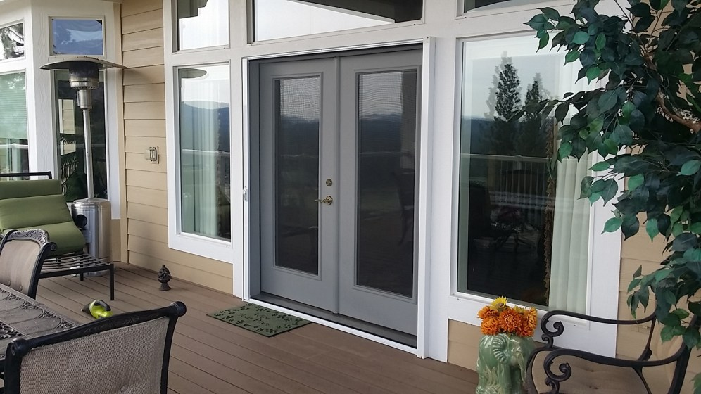 Screens for Large Doors