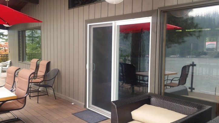 Sliding Door Leading to Patio