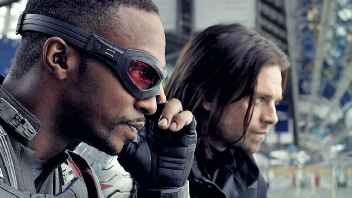 produccion detenida en disney series falcon and the winter soldier