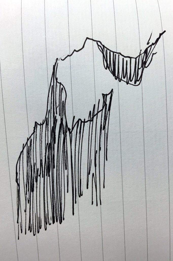 rocky-outcropping-sketch