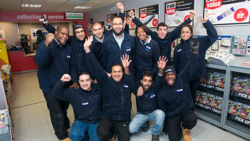 London Screwfix is best in the UK