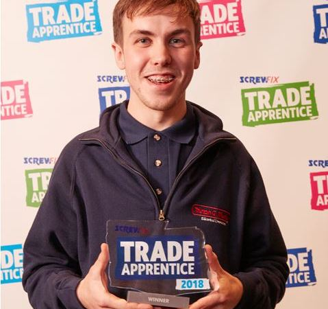 The Winner is… Jack Martin wins 2018 Screwfix Trade Apprentice competition