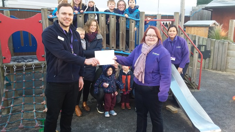 Tunbridge Wells based charity gets a helping hand from the Screwfix Foundation