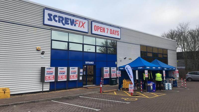 Another New Screwfix Store Opens in Milton Keynes
