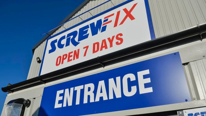 Guiseley celebrates new Screwfix store opening
