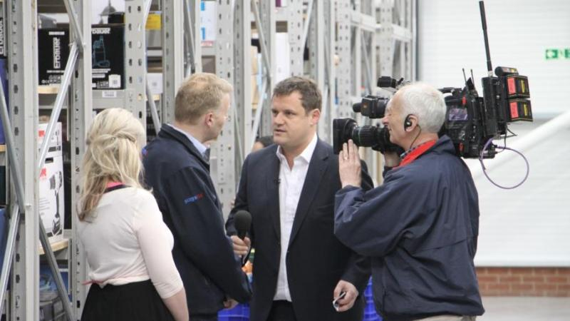 Screwfix on BBC Breakfast