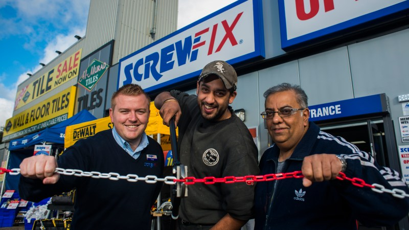 Ilford's first Screwfix store is declared a runaway success