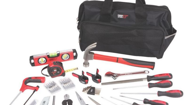 Enhanced Forge Steel tool range available from Screwfix