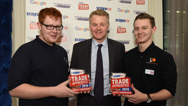 Apprentice from Nantwich is recognised as one of the best apprentices in the UK!