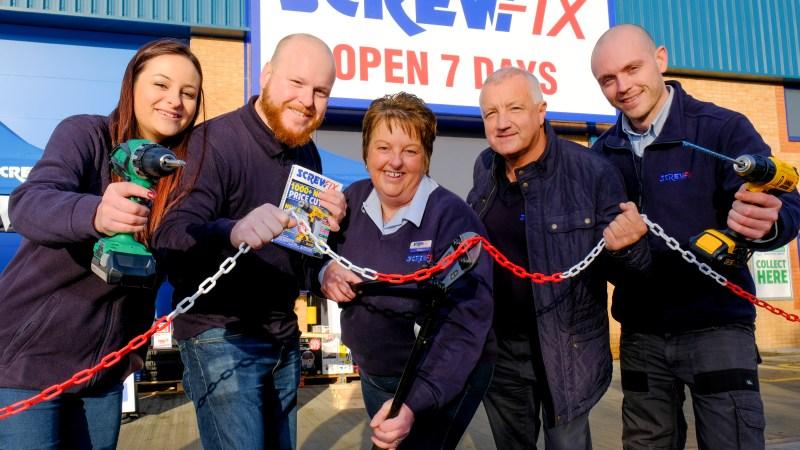 Leeds' third Screwfix store is declared a runaway success