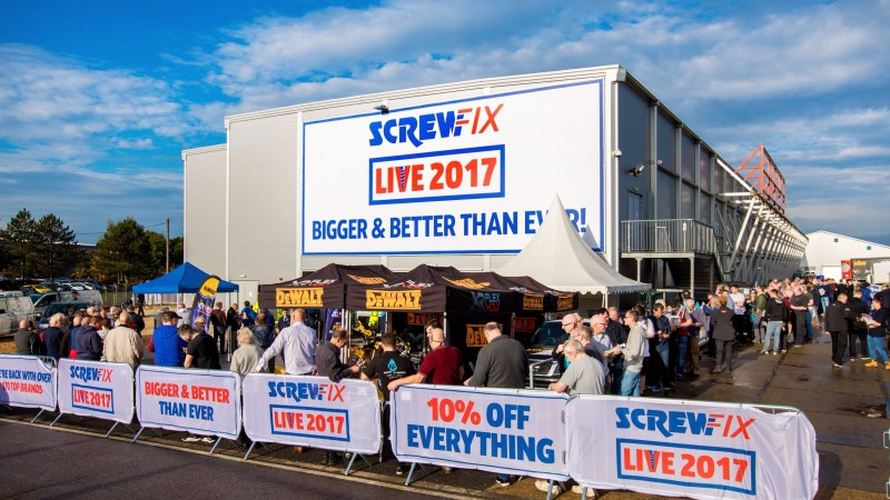 Another successful record-breaking exhibition for Screwfix as thousands attend Screwfix Live 2017