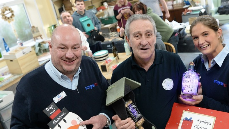 Discover U receives generous donation from the Screwfix Foundation