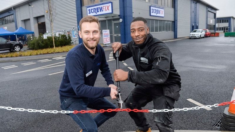 Watford's second Screwfix store is declared a runaway success